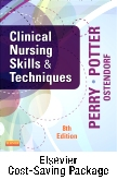 Clinical Nursing Skills and Techniques - Text and Mosby's Nursing Video Skills - Student Version DVD 4e Package, 8th Edition