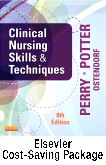 cover image - Clinical Nursing Skills and Techniques - Text and Mosby's Nursing Video Skills: Student Online Version 4e (Access Card) Package,8th Edition