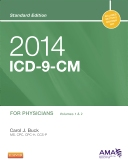 cover image - 2014 ICD-9-CM for Physicians, Volumes 1 and 2, Standard Edition