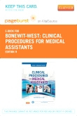 cover image - Clinical Procedures for Medical Assistants - Elsevier eBook on VitalSource  (Retail Access Card),9th Edition