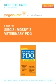 cover image - Mosby's Veterinary PDQ - Elsevier eBook on VitalSource (Retail Access Card)