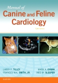 cover image - Manual of Canine and Feline Cardiology - Elsevier eBook on VitalSource,5th Edition