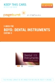 cover image - Dental Instruments - Elsevier eBook on VitalSource (Retail Access Card),5th Edition