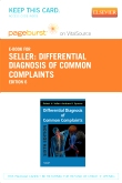 cover image - Differential Diagnosis of Common Complaints - Elsevier eBook on VitalSource (Retail Access Card),6th Edition