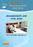 Mosby's Nursing Assistant Video Skills: Vital Signs DVD 4.0, 4th Edition
