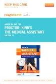 Kinn's The Medical Assistant - Elsevier eBook on Intel Education Study (Retail Access Card), 12th Edition
