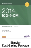 cover image - 2014 ICD-9-CM, for Physicians, Volumes 1 and 2 Professional Edition (Spiral bound) with 2013 HCPCS Level II Professional Edition and 2014 CPT Professional Edition Package