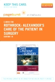 Alexander's Care of the Patient in Surgery - Elsevier eBook on VitalSource (Retail Access Card), 15th Edition