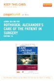 Alexander's Care of the Patient in Surgery - Elsevier eBook on Intel Education Study (Retail Access Card), 15th Edition