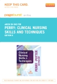 Clinical Nursing Skills and Techniques - Elsevier eBook on Intel Education Study (Retail Access Card), 8th Edition