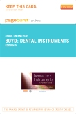Dental Instruments - Elsevier eBook on Intel Education Study (Retail Access Card), 5th Edition