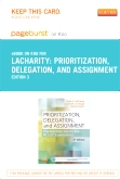 Prioritization, Delegation, and Assignment - Pageburst E-Book on Kno (Retail Access Card), 3rd Edition