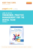 Practice Management for the Dental Team - Elsevier eBook on Intel Education Study (Retail Access Card), 8th Edition