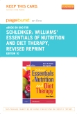 cover image - Williams' Essentials of Nurtition and Diet Therapy -Revised Reprint - Elsevier eBook on Intel Education Study (Retail Access Card),10th Edition