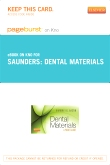 Dental Materials - Elsevier eBook on Intel Education Study (Retail Access Card)