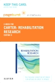 Rehabilitation Research - Elsevier eBook on Vitalsource (Retail Access Card), 5th Edition