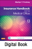 Medical Insurance Online for Insurance Handbook for the Medical Office, 13th Edition