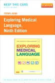 iTerms Audio for Exploring Medical Language, 9th Edition