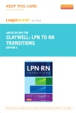 cover image - LPN to RN Transitions - Elsevier eBook on Intel Education Study (Retail Access Card),3rd Edition