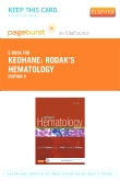 cover image - Rodak's Hematology Elsevier eBook on VitalSource (Retail Access Card),5th Edition