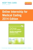Online Internship for Medical Coding 2014 Edition (Retail Access Card)