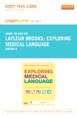 cover image - Exploring Medical Language - Elsevier eBook on Intel Education Study (Retail Access Card),9th Edition