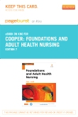cover image - Foundations and Adult Health Nursing - Elsevier eBook on Intel Education Study (Retail Access Card),7th Edition