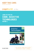 Assistive Technologies - Elsevier eBook on Intel Education Study (Retail Access Card), 4th Edition