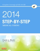cover image - Medical Coding Online for Step-by-Step Medical Coding 2014 Edition (Access Code & Textbook Package)