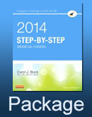 cover image - Medical Coding Online for Step-by-Step Medical Coding 2014 Edition (Access Code, Textbook and Workbook package)