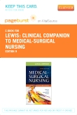 cover image - Clinical Companion to Medical-Surgical Nursing - Elsevier eBook on VitalSource (Retail Access Card),9th Edition