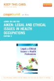 cover image - Legal and Ethical Issues for Health Professions - Elsevier eBook on Intel Education Study (Retail Access Card),3rd Edition