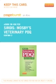 Mosby's Veterinary PDQ - Elsevier eBook on Intel Education Study (Retail Access Card), 2nd Edition