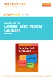 Basic Medical Language - Elsevier eBook on Intel Education Study (Retail Access Card), 4th Edition