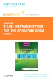 Instrumentation for the Operating Room - Elsevier eBook on VitalSource (Retail Access Card), 9th Edition