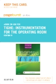 Instrumentation for the Operating Room - Elsevier eBook on Intel Education Study (Retail Access Card), 9th Edition
