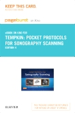 Pocket Protocols for Sonography Scanning - Elsevier eBook on Intel Education Study (Retail Access Card), 4th Edition
