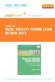 Facility Coding Exam Review 2013 - Elsevier E-Book on VitalSource + Evolve Access (Retail Access Cards)