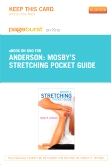Mosby's Stretching Pocket Guide - Elsevier eBook on Intel Education Study (Retail Access Card)