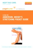 cover image - Mosby's Stretching Pocket Guide - Elsevier eBook on VitalSource (Retail Access Card)