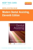 Dental Assisting Online for Modern Dental Assisting (Access Code), 11th Edition