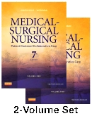 Medical-Surgical Nursing - Two-Volume Text and Simulation Learning System, 7th Edition
