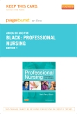 cover image - Professional Nursing - Elsevier eBook on Intel Education Study (Retail Access Card),7th Edition
