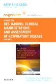 cover image - Clinical Manifestations and Assessment of Respiratory Disease - Elsevier eBook on VitalSource (Retail Access Card),7th Edition