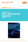 cover image - Motor Speech Disorders- Elsevier eBook on Intel Education Study (Retail Access Card),3rd Edition