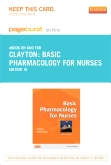 cover image - Basic Pharmacology for Nurses - Elsevier eBook on Intel Education Study (Retail Access Card),16th Edition