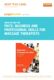 cover image - Business and Professional Skills for Massage Therapists - Elsevier eBook on Intel Education Study (Retail Access Card)