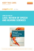 Review of Speech and Hearing Sciences - Elsevier eBook on Intel Education Study (Retail Access Card)