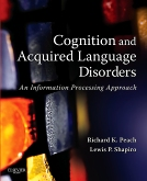 cover image - Cognition and Acquired Language Disorders - Elsevier eBook on Intel Education Study