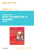 Introduction to Research - Elsevier eBook on Intel Education Study (Retail Access Card), 5th Edition